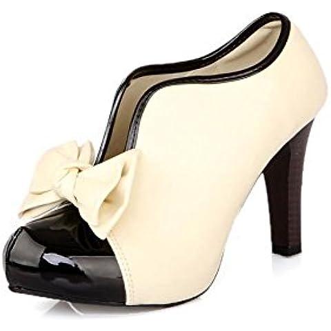 Très Chic Mailanda Donna Tacco Alto Serata Stivaletto Scarpe Wedding shoes
