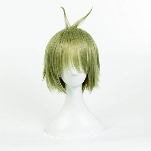 Taro Cosplay Perücke Perücke Großhandel Projektil gebrochen Himmel hailan Cosplay Hochtemperatur Seide Grasgrün