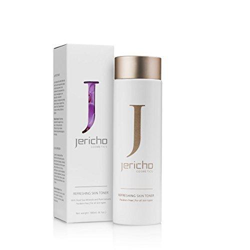 Jericho Refreshing Skin Toner for All Skin Types 180ml 6.4fl.oz Dead Sea -