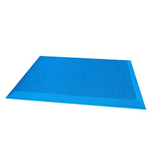 Baoblaze Anti-Rutsch Doppelseitige Fußmassage Matte Fußmassagematte, Auswahl - Blau