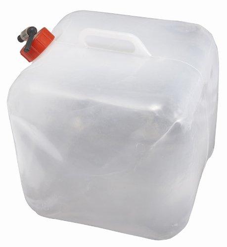 L.A. Trekking Wasserkanister, weiß, 20 x 20 x 5 cm, 10 Liter, 82562
