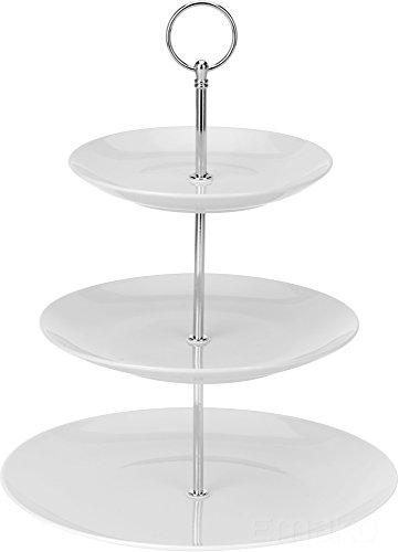Etagere aus Keramik mit 3 Ebenen
