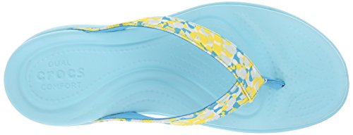 Crocs Capri V Deco W Flip Flop Ice Blue