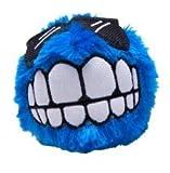 Rogz CGR03-B Grinz Plush/Wurfspielzeug, M, blau