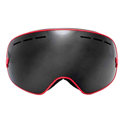 YouN Anti-fogging Large Sphere Goggles Snowboarding Skiing Glasses (Multicolor)