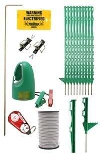 Cheval de clôture électrique Kit de démarrage, clôture électrique pour chevaux et Paddock.