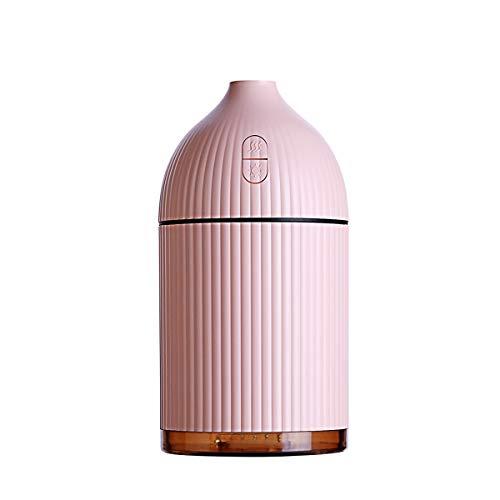 LPLHJD Luftbefeuchter mit kühlem Nebel Kleine Grain Luftbefeuchter Hochwertiges Thema Auto Aromabefeuchter (Color : Pink)