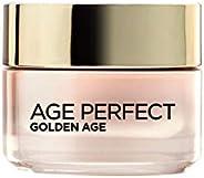L'Oréal Paris Age Perfect Golden Age Crema de Día Fortificante de Rosas, Antiflacidez y Luminosidad, Piele