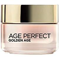 L'Oréal Paris Dermo Expertise - Age Perfect, crema rosa anti arrugas Golden Age, para pieles maduras, 50 ml