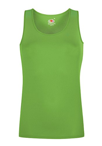 Lady-Fit Performance-Weste Gr. XXL, lime (Fruit Of The Loom Tank Damen)