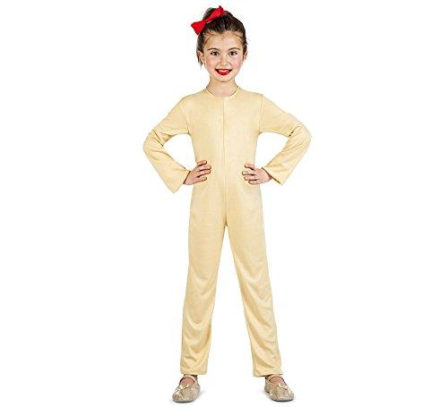 Imagen de disfraz mono color carne talla 7 9 años tamaño infantil