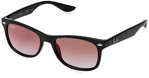 Ray-Ban Unisex-Erwachsene 100/V0 Sonnenbrille, Schwarz (Black), 48