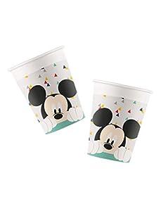 Procos vaso de papel 200ML Mickey Mouse Awesome, Multicolor, 5pr89002