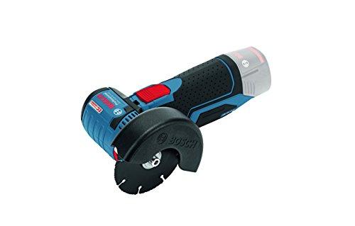 Bosch Professional GWS 10,8-76 V-EC - Amoladora angular a batería con accesorios (19500 rpm, 12 V, discos, 2 discos de corte para metal, 1 de multi-material, L-BOXX, sin batería)