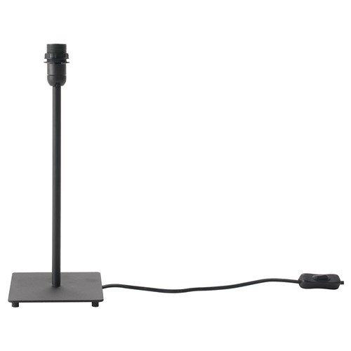 IKEA HEMMA-Tisch Lampenfuß, schwarz-35cm