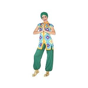 Atosa-54036 Disfraz Hindú, Color Verde, M-L (54036)