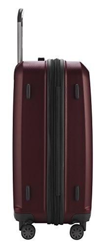 HAUPTSTADTKOFFER - X-Berg - Koffer Trolley Hartschalenkoffer, TSA, 75 cm, 128 Liter, Burgund - 4