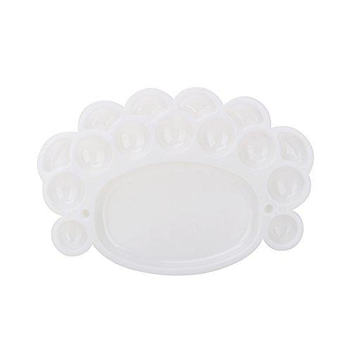 Kunststoffpaletten, Neue Kunstalternativen Farbwanne Künstler Aquarell Palette Versorgung (Weiß) - Neue Paletten
