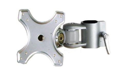 LINDY 40695 - Modularer LCD-Monitorarm, kurz - Modulares Halterungssystem für Monitore und Notebook - Höhenverstellbar - Silber -
