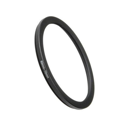Fotodiox Step Down Ring, Metall, eloxiert, Schwarz, Keine, schwarz, 82-72mm 72mm Step-down Ring
