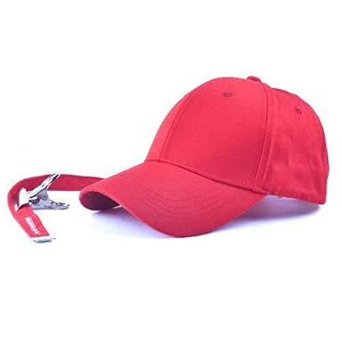 9d3ff3b9a31 JJJRMP Peaceminusone Bone Red Baseball Cap Hiphop Pet Snapback