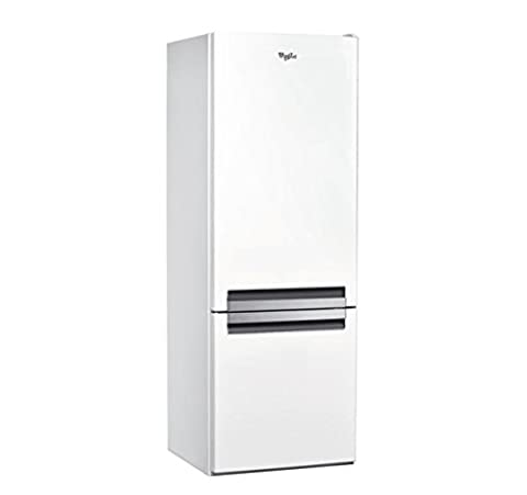 Whirlpool BLF 5121 W Autonome 271L A+ Blanc réfrigérateur-congélateur - réfrigérateurs-congélateurs (Autonome, Blanc, Droite, R600a, Verre, 271