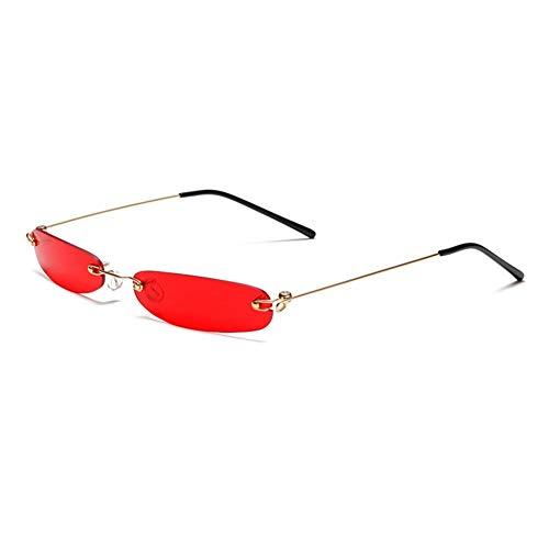 advancethy Persönlichkeit Mini Frameless Sonnenbrillen Trendy Ocean Sonnenbrillen Sonnenbrillen