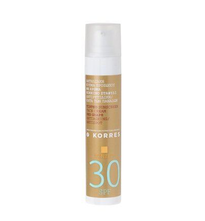 korres-tinted-loni-screen-face-cream-red-grape-spf30-antiageing-anti-spot-50ml