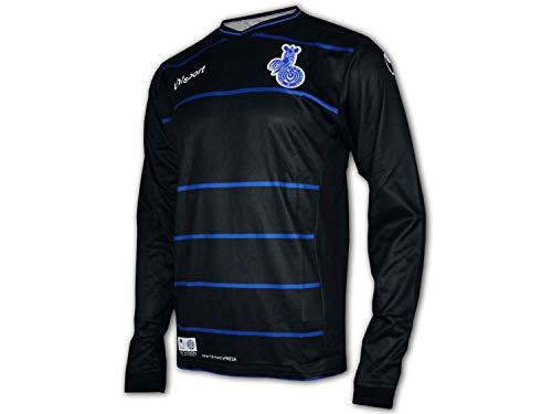 uhlsport MSV Duisburg 3rd Kinder Shirt Zebras MSV Heim Trikot Junior Fan Shirt, Größe:152