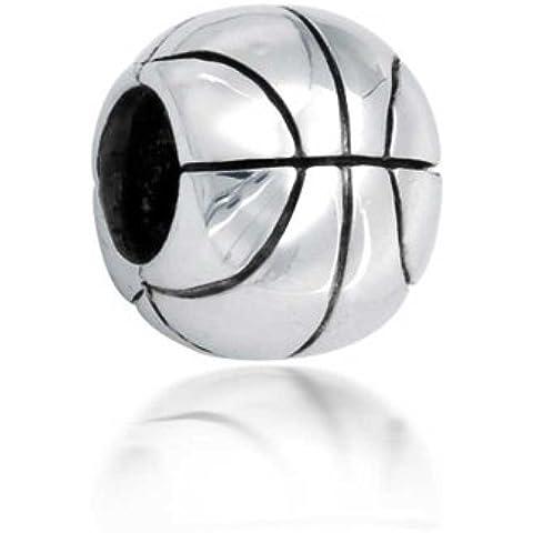 Bling Jewelry Basket 925 Sterling Silver Sport Bead