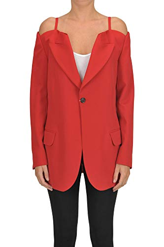 Maison Margiela Off The Shoulder Blazer Woman Red 42 IT