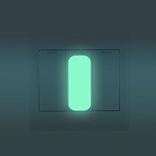 8 Square-beige-teppich (sunnymi Praktisch 10 PCS ★ Square Light Schalter Aufkleber ★Lumineszierendes Glühen Im Dunkeln)