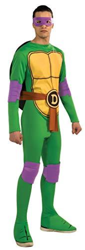 Donatello Kostüm - Generique - Donatello Kostüm für Erwachsene aus Ninja Turtles XL