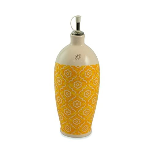 Galileo Casa Marrakesch Lflasche Keramik Orange
