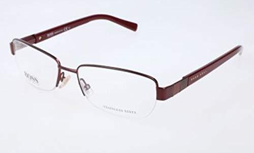 BOSS Hugo Damen Hugo Orange Brille Brillengestelle, Silber, 53