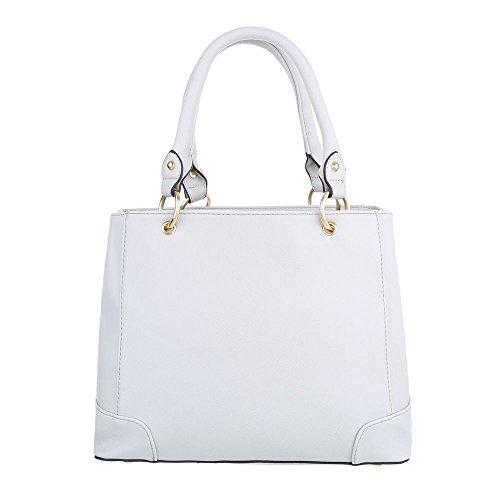 Taschen Handtasche Hellgrau