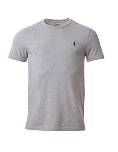 Ralph Lauren.Herren T-Shirt Rundhalsausschnitt, kurzärmelig Gr. XL, grau