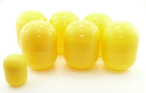 Kinder Überraschung, 6 leere Mini Maxi Ei Kapseln in gelb (Spielzeug In Ei -)