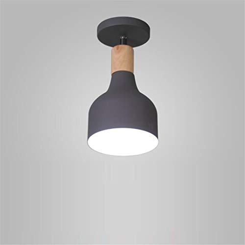 Deckenleuchte Nordische Minimalistische Graue Flurganglichter Moderne Led-Lampen Veranda Flur Garderobe Rotierende Balkonlichter