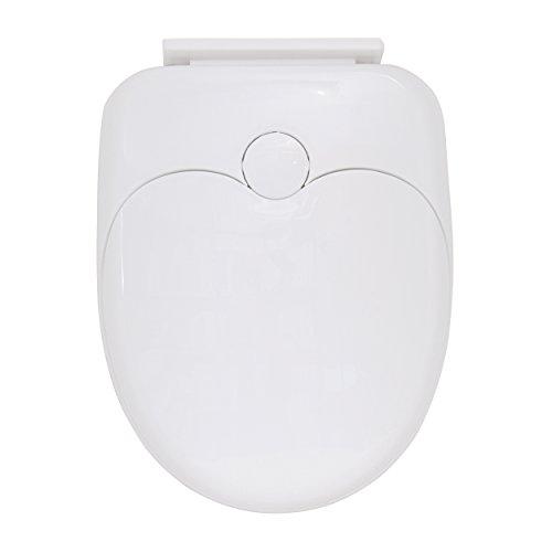 MSV WC-Sitz für Erwachsene/Kinder, Plastik, weiß, 30 x 20 x 15 cm