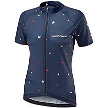 Uglyfrog Verano Hombre Cycling Jersey Maillot Ciclismo Mangas Cortas Camiseta de Ciclistas Ropa Ciclismo DXWX02F