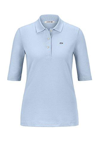 Lacoste Damen Poloshirt Halbarm Bleu (50) 42