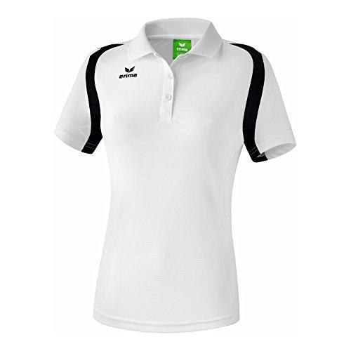 Erima Razor 2.0 Polo Femme, Blanc/Noir, FR : XL (Taille Fabricant : 48)