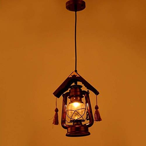 Oudan Das Altertum Pferd der Lichter, Retro chinesischen Kronleuchter Petroleumlampe leuchtet Teehaus in der europäischen Stil verpflichtet den Empfang der Lichter E27 (Farbe : -, Größe : -)