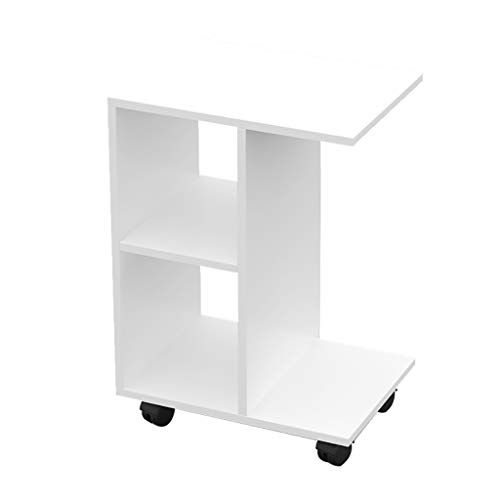 Table Basse De Rangement, Table De Chevet Polyvalente, Meuble De Chevet Moderne Simple