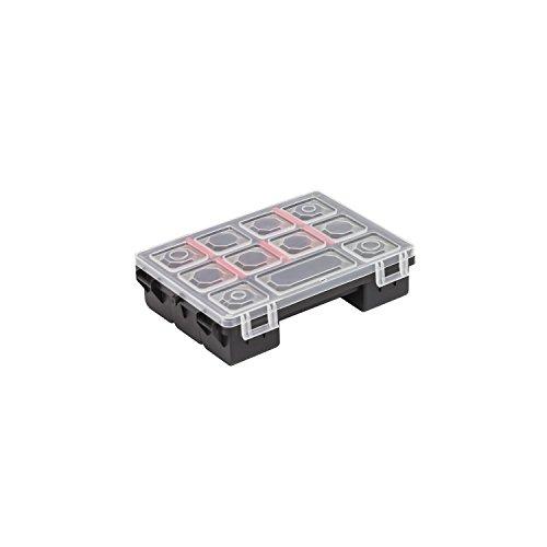 11 Fächer Sortimentskasten Sortierbox Tandem B Box Kleinteilemagazin Kunststoff 180x135x45 mm Koffer