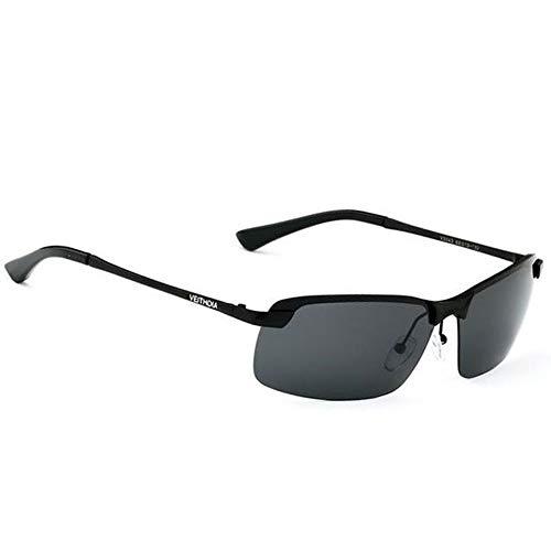ZHOUYF Sonnenbrille Fahrerbrille Original Brand Logo Designer Fahren Herren Polarisierte Sonnenbrillen Mode Eyewear Uv400 Sonnenbrille, B