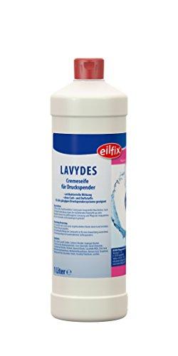 Eilfix Lavydes Cremeseife, Seifencreme, Seife, Flüssigseife antibakteriell, 1L