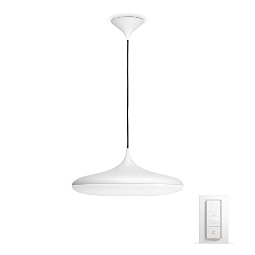 Philips Lighting Dimmer Switch Included Cher Suspension Light Hue Lampada a Sospensione LED Integrata, 39 W, Bianco, 47.5 x 47.5 x 175 cm