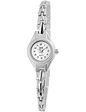 Dawn Damenuhr mit Edelstahlarmband Armbanduhr Uhr Sandfarben 100422000334